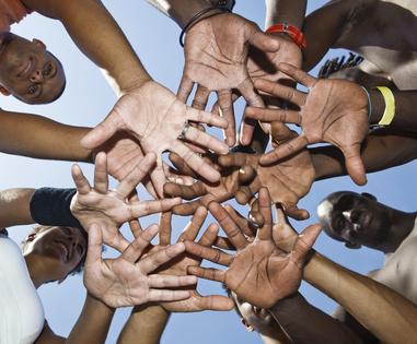 Groupe de réfugiés