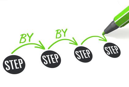 Les différentes étapes de la transition
