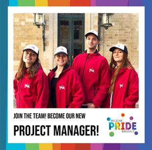 Job: deviendras-tu l'architecte de la Belgian Pride ?