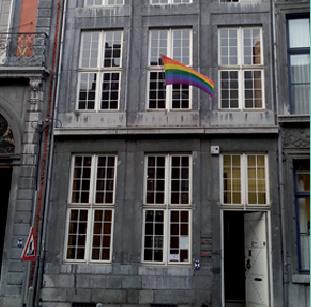 Rencontres d'échange et de formation pour les demandeur.euse.s d'asile LGBT @ Maison Arc-en-Ciel de Liège