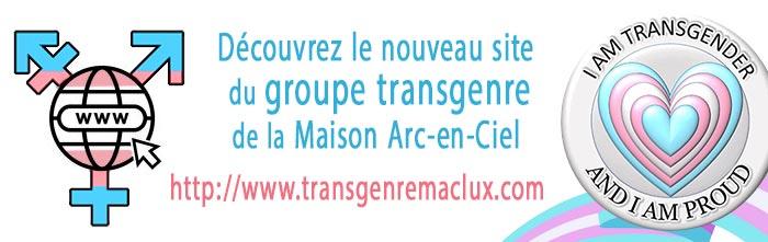 Visitez le nouveau site du groupe trans* de la Maison Arc-en-Ciel de la province de Luxembourg: http://www.transgenremaclux.com