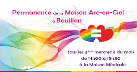 Permanence de la Maison Arc-en-Ciel à Bouillon @ Maison Médicale de Bouillon